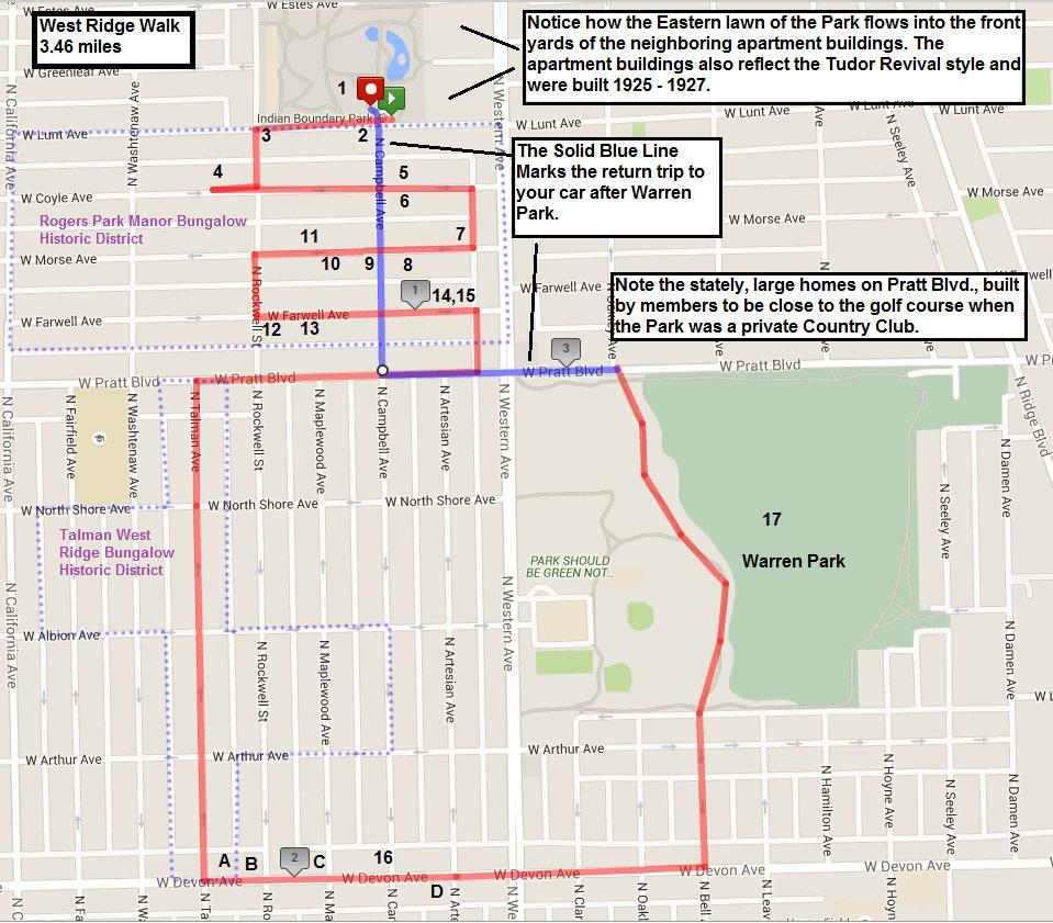 The Neighborhood Walks  Chicago Neighborhood Walks - Kenwood chicago map