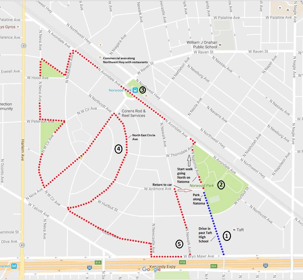 norwood-park-map